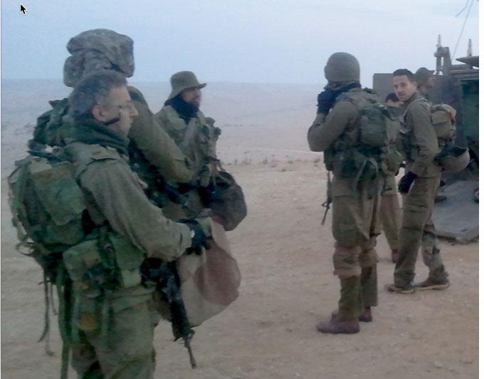 IDF Reserve soliders