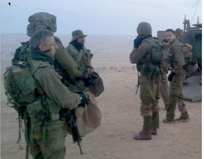 IDF Reserve soliders