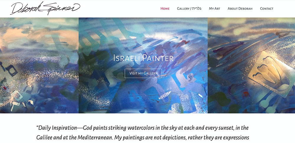 studio spinner creating websites